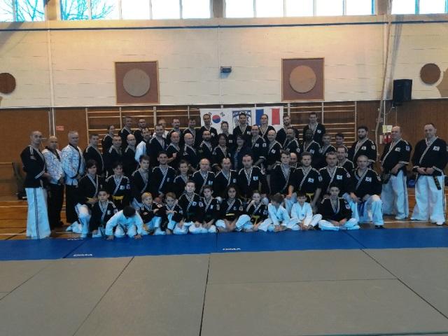 Le club de HAPKIDO de Sarreguemines - Lorraine: Stage Hapkimudo à Valmont