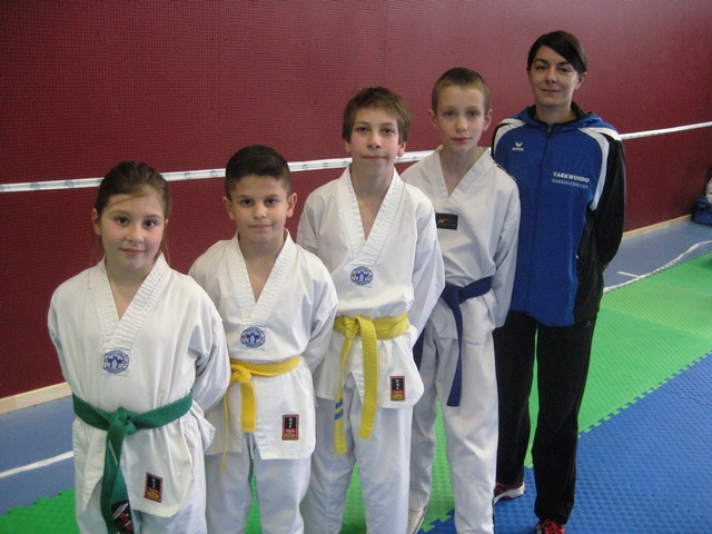 Le club de Taekwondo de Sarreguemines - Lorraine: Coupe Grand-Est Benjamins Minimes