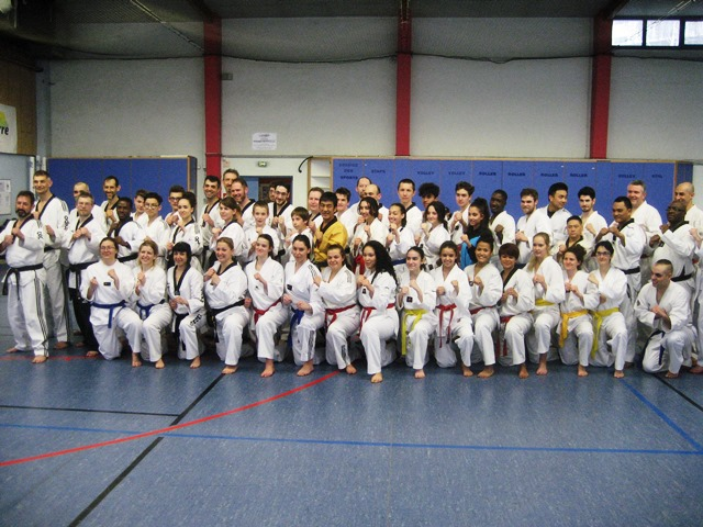 Le club de Taekwondo de Sarreguemines - Lorraine: Stage Technique à Vandoeuvre Les Nancy