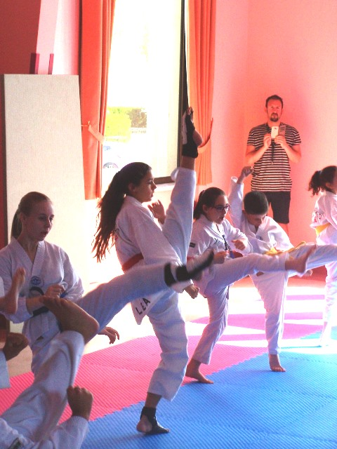Le club de Taekwondo de Sarreguemines - Lorraine: Stage Taekwondo Enfant avec Clara Mallien