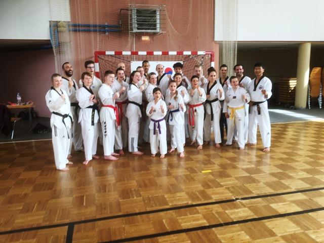 Le club de Taekwondo de Sarreguemines - Lorraine: Stage technique avec Maître SIHN