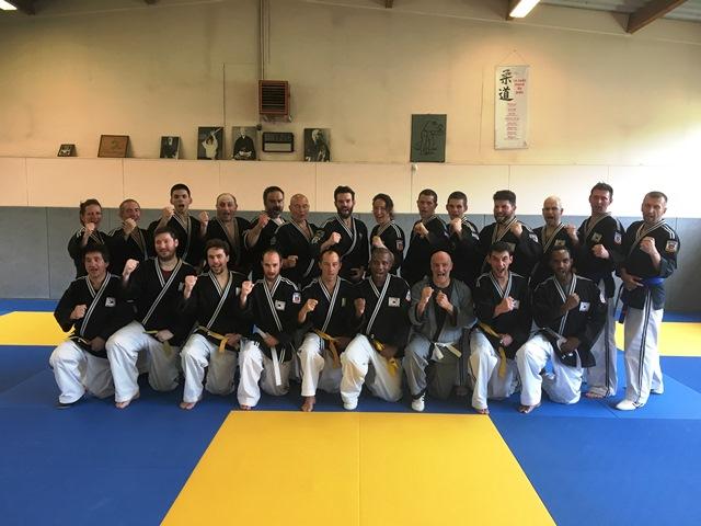 Le club de HAPKIDO de Sarreguemines - Lorraine: Stage Hapkido Combat