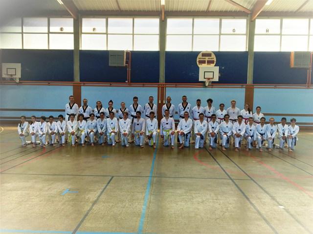 Le club de Taekwondo de Sarreguemines - Lorraine: Stage technique avec Jean-Michel HERTZOG