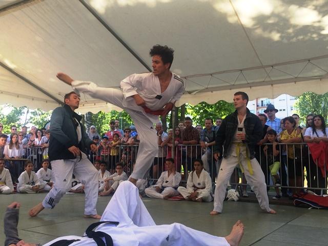 Le club de Taekwondo de Sarreguemines - Lorraine: Fête du Sport à Sarreguemines