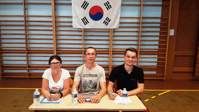Le club de Taekwondo de Sarreguemines: Le comité