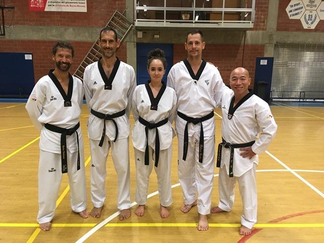 Le club de Taekwondo de Sarreguemines - Lorraine: Séminaire à Liège