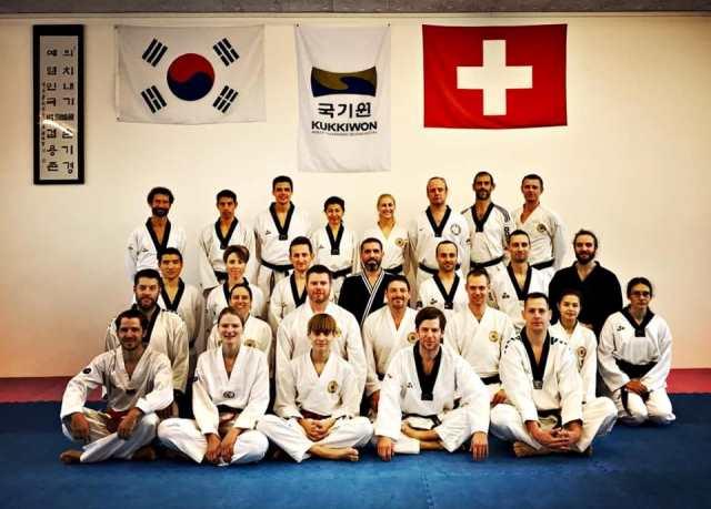 Le club de Taekwondo de Sarreguemines - Lorraine: Séminaire ceintures noires à Bales