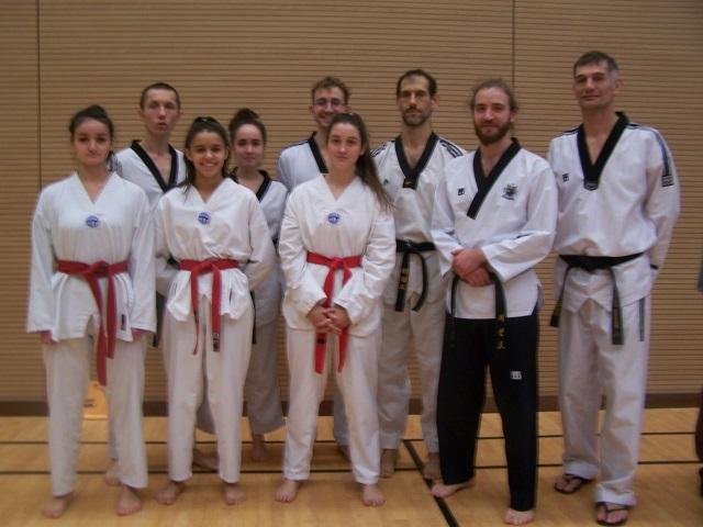 Le club de Taekwondo de Sarreguemines - Lorraine: Stage préparation ceinture noire