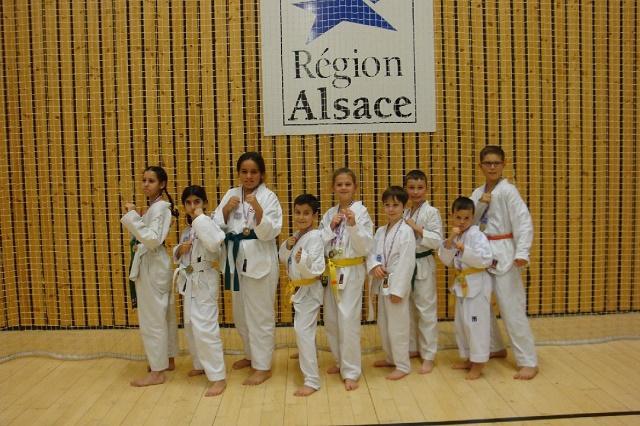 Le club de Taekwondo de Sarreguemines - Lorraine: Critérium enfants Strasbourg