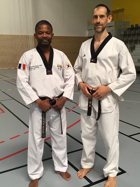Le club de Taekwondo de Sarreguemines - Lorraine:  Formation juge technique