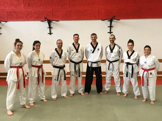 Le club de Taekwondo de Sarreguemines - Lorraine:  Cours prépa Dan
