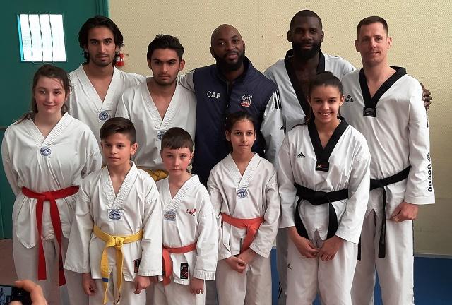 Le club de Taekwondo de Sarreguemines - Lorraine:  Stage combat organisé par Rémy ALAZOULA