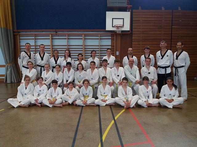 Le club de Taekwondo de Sarreguemines - Lorraine: Stage technique avec Jean Michel Hertzog