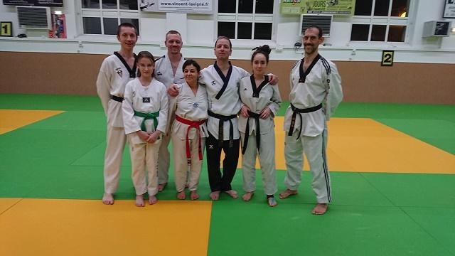 Le club de Taekwondo de Sarreguemines - Lorraine:Stage technique avec Maitre Philippe Montosi
