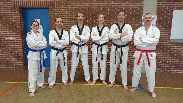 Le club de Taekwondo de Sarreguemines - Lorraine: Les encadrants