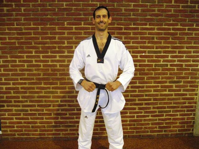 Le club de Taekwondo de Sarreguemines: l'entraineur